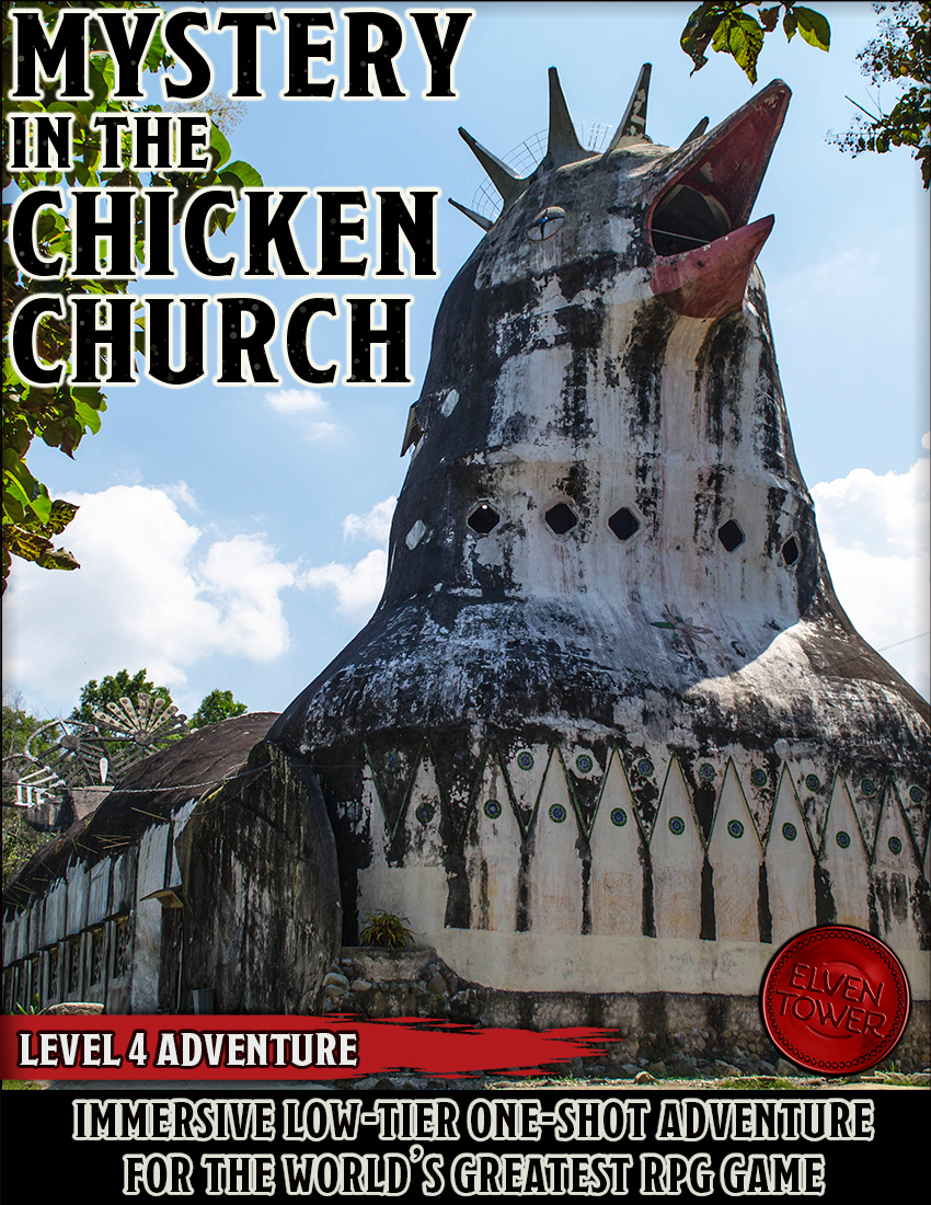 Mystery in the Chicken Church – D&D 5e Adventure – Level 4